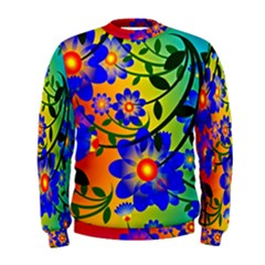 Abstract Background Backdrop Design Men s Sweatshirt