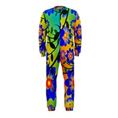 Abstract Background Backdrop Design Onepiece Jumpsuit (kids)
