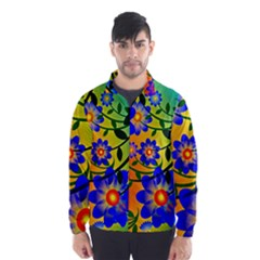 Abstract Background Backdrop Design Wind Breaker (men)