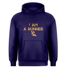 I Am A Runner   Men s Pullover Hoodie