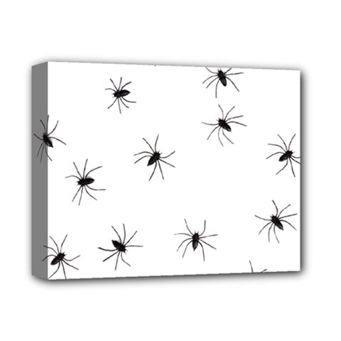 Animals Arachnophobia Seamless Deluxe Canvas 14  X 11