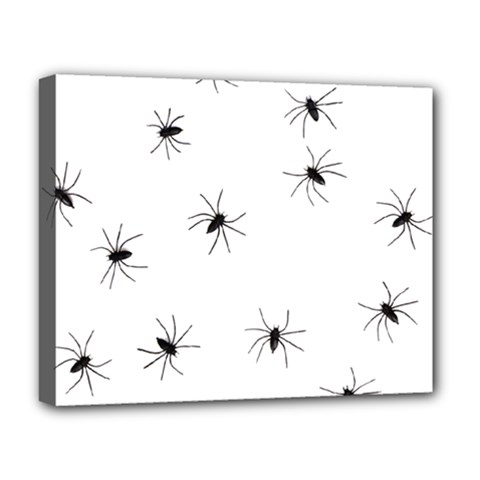 Animals Arachnophobia Seamless Deluxe Canvas 20  X 16