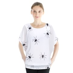 Animals Arachnophobia Seamless Blouse