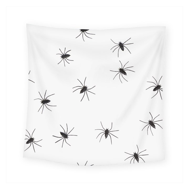 Animals Arachnophobia Seamless Square Tapestry (Small)