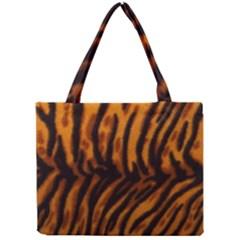 Animal Background Cat Cheetah Coat Mini Tote Bag