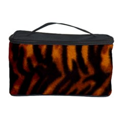 Animal Background Cat Cheetah Coat Cosmetic Storage Case