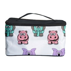 Animals Pastel Children Colorful Cosmetic Storage Case
