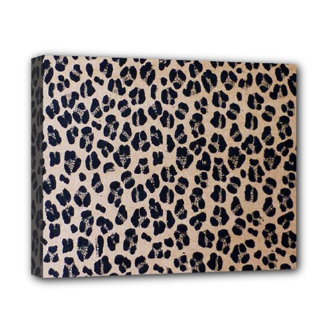 Background Pattern Leopard Canvas 10  x 8