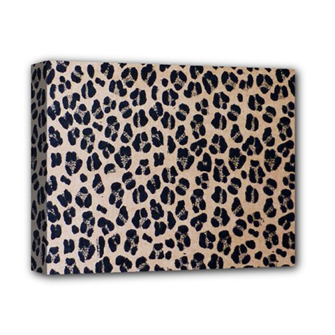 Background Pattern Leopard Deluxe Canvas 14  X 11