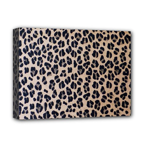 Background Pattern Leopard Deluxe Canvas 16  X 12