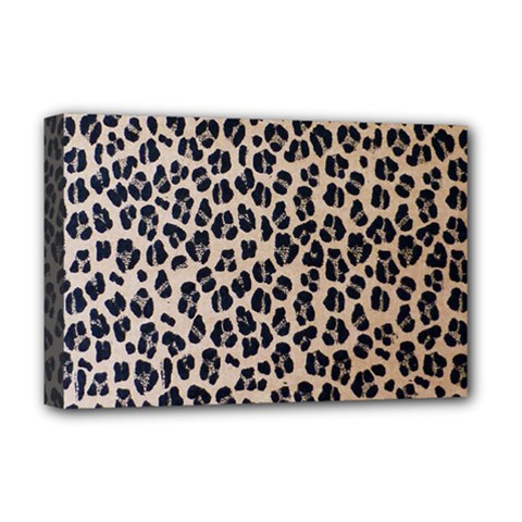 Background Pattern Leopard Deluxe Canvas 18  X 12
