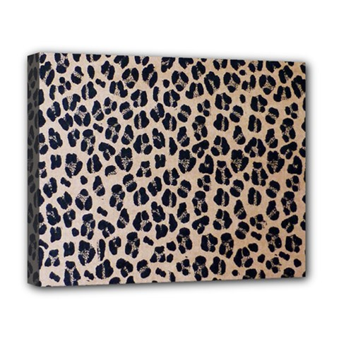 Background Pattern Leopard Deluxe Canvas 20  X 16