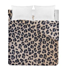 Background Pattern Leopard Duvet Cover Double Side (full/ Double Size)