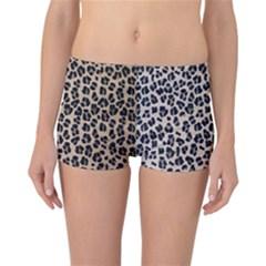 Background Pattern Leopard Reversible Bikini Bottoms