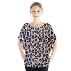 Background Pattern Leopard Blouse
