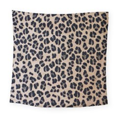 Background Pattern Leopard Square Tapestry (large)
