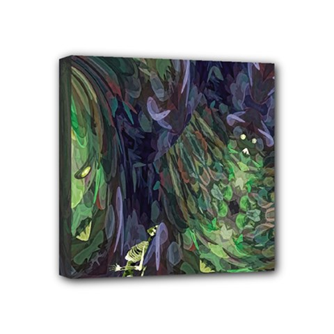 Backdrop Background Abstract Mini Canvas 4  X 4