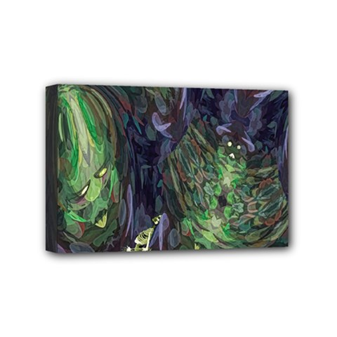 Backdrop Background Abstract Mini Canvas 6  X 4