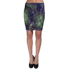 Backdrop Background Abstract Bodycon Skirt