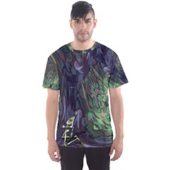 Backdrop Background Abstract Men s Sport Mesh Tee