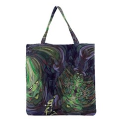 Backdrop Background Abstract Grocery Tote Bag