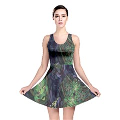 Backdrop Background Abstract Reversible Skater Dress