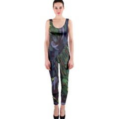 Backdrop Background Abstract Onepiece Catsuit
