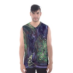 Backdrop Background Abstract Men s Basketball Tank Top