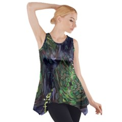 Backdrop Background Abstract Side Drop Tank Tunic