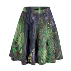 Backdrop Background Abstract High Waist Skirt