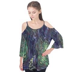 Backdrop Background Abstract Flutter Tees