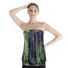 Backdrop Background Abstract Strapless Top