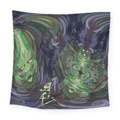 Backdrop Background Abstract Square Tapestry (large)
