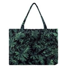 Dark Flora Photo Medium Tote Bag
