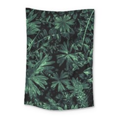 Dark Flora Photo Small Tapestry