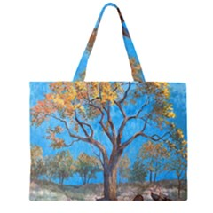 Turkeys Large Tote Bag