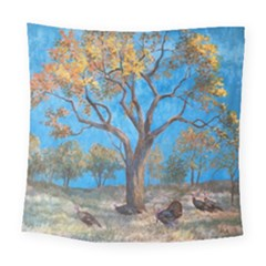 Turkeys Square Tapestry (large)
