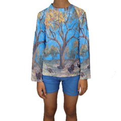 Turkeys Kids  Long Sleeve Swimwear