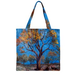 Turkeys Zipper Grocery Tote Bag
