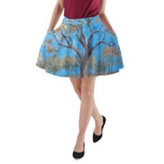 Turkeys A Line Pocket Skirt