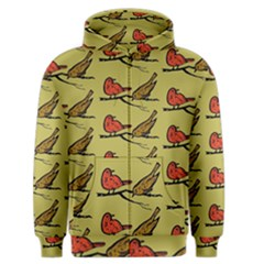 Bird Birds Animal Nature Wild Wildlife Men s Zipper Hoodie