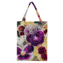 Background Flowers Classic Tote Bag