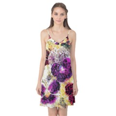 Background Flowers Camis Nightgown