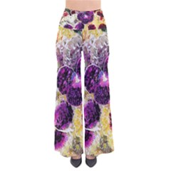 Background Flowers Pants