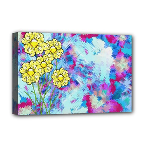 Backdrop Background Flowers Deluxe Canvas 18  X 12
