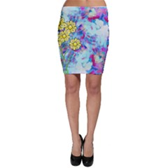 Backdrop Background Flowers Bodycon Skirt