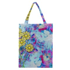 Backdrop Background Flowers Classic Tote Bag