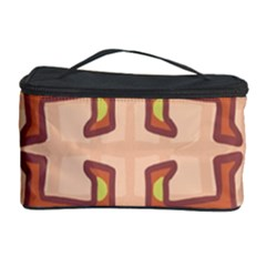 Dog Abstract Background Pattern Design Cosmetic Storage Case