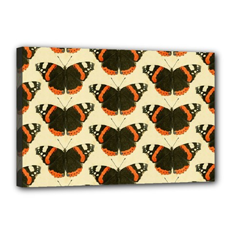 Butterfly Butterflies Insects Canvas 18  X 12