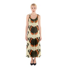 Butterfly Butterflies Insects Sleeveless Maxi Dress